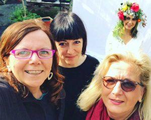 Bassano in Teverina - Cento volti di donne - Le tre ideatrici del progetto