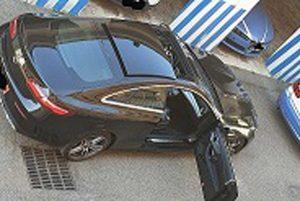 Viterbo - Uno dei veicoli sequestrati