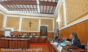 Montefiascone - Il consiglio comunale - Bagarre in aula tra Augusto Bracoloni e Paolo Manzi