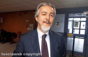 Francesco Battistoni in tribunale