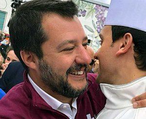 Matteo Salvini al Vinitaly