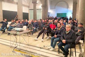 Sport - Calcio - Viterbese - La proiezione del match agli Almadiani