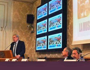 Roma - Il sindaco Giovanni Arena al Senato per sollecitare un'iniziativa parlamentare a sostegno della musica popolare