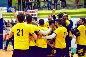 Sport - Pallavolo - Tarquinia - I viterbesi festeggiano la vittoria