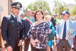 Santa Marinella - La ministra Trenta all'International Marconi day