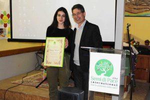 Tarquinia - Chiara Bordi testimonial di Semi di Pace