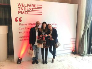 Deangelis srl prima classificata al Premio welfare index