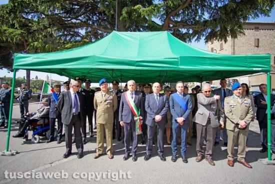 Viterbo - La zona dedicata alle forze dell'ordine e alle istituzioni