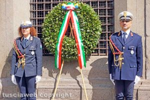 Viterbo - La celebrazione del 25 aprile