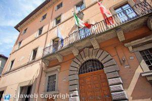 Viterbo - La facciata della provincia
