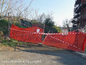 Montefiascone – Il cantiere sequestrato in via Bertina