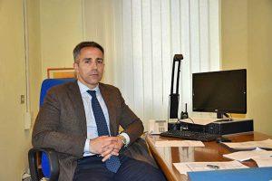 Viterbo - Il capo della squadra mobile Gian Fabrizio Moschini