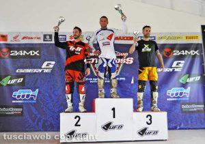 Sport - Motocross - Il podio di Fermo