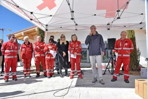 La Croce rossa ad Amatrice