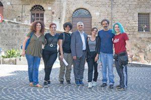 Ronciglione - Le riprese del cortometraggio Sadok