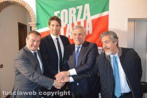 Moscherini, Catini, Tajani e Battistoni