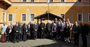Roma - Cavalieri e dame del Santo Sepolcro di Gerusalemme nei luoghi simbolo dell'ordine