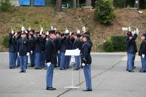 Viterbo - La cerimonia di consegna dello spadino agli allievi marescialli del 21esimo corso Esempio
