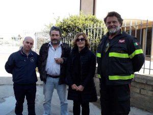 Da sinistra Sacripanti, Ranucci, Moioli, Moruzzi
