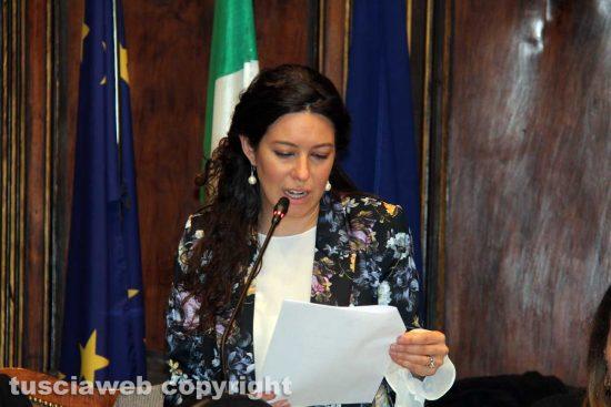 Viterbo - Consiglio comunale - Antonella Sberna