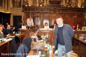 Viterbo - Consiglio comunale - Gianmaria Santucci