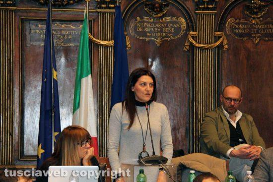 Viterbo - Consiglio comunale - Alessia Mancini