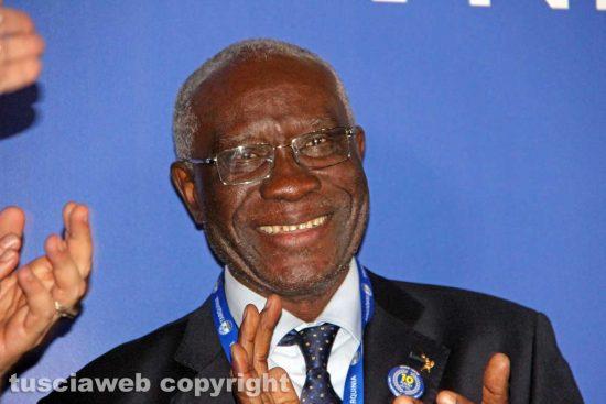 Tarquinia - Il senatore Toni Iwobi