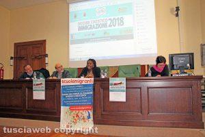 Viterbo - La presentazione del dossier Immigrazione 2018