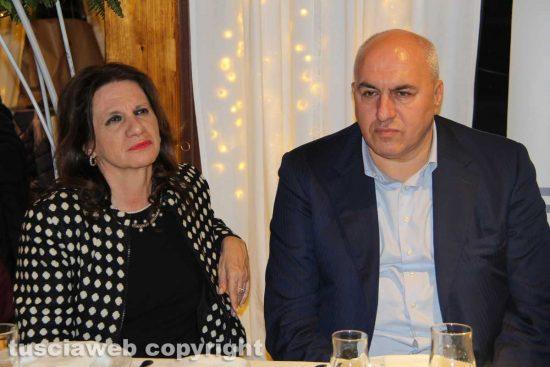 Laura Allegrini e Guido Crosetto