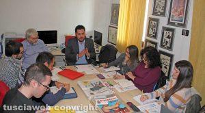 Viterbo - Francesco Ciprini alla Tusciaweb Academy