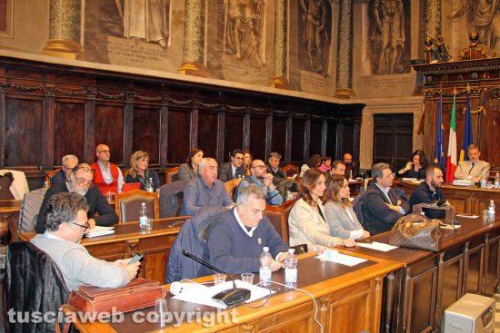 Viterbo - Il consiglio comunale - La maggioranza