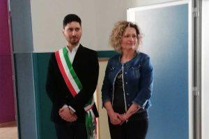 Valentano - Riaperto il primo piano dell'istituto Paolo Ruffini
