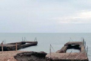 Montalto di Castro - Un molo di Pescia Romana