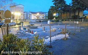 Bolsena - La fontana a piazza San Giovanni
