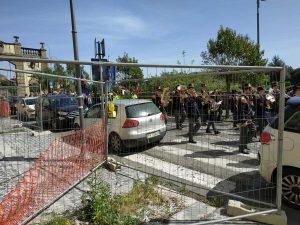 Ronciglione - La rete in via Garibaldi