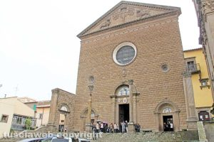 Viterbo - Il santuario della Madonna della Quercia