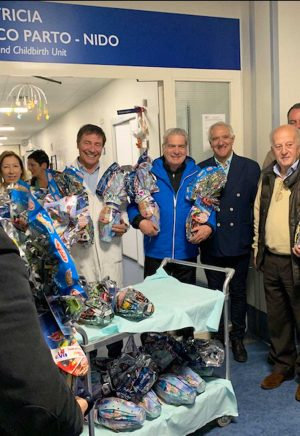 Viterbo - La visita del sindaco Arena a Belcolle