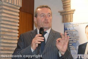 Il candidato sindaco Gianni Moscherini
