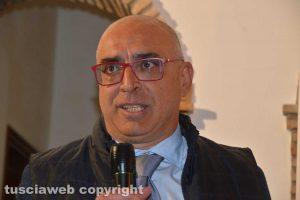 Il capolista della lista di Fratelli d'Italia Alberto Sabino Riglietti