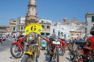 Motori - La Milano-Taranto per moto d'epoca