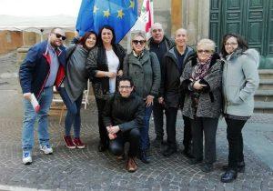Viterbo - Il Pd in piazza