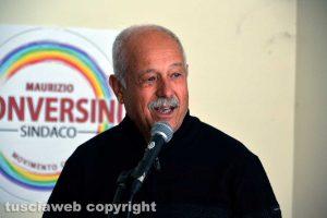 Sandro Vallesi, rappresentante della lista Movimento civico