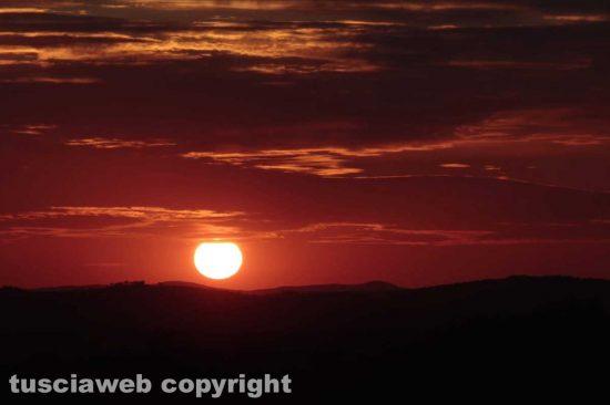Ischia di Castro - Il tramonto