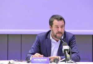 Europee - Matteo Salvini alla Convention di Milano