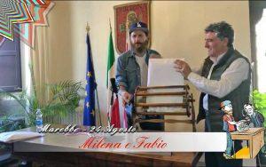 Sutri - Jovanotti annunci che sposerà Milena e Fabio
