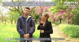 Armando, collega di Maria Sestina Arcuri, ai microfoni di Pomeriggio cinque