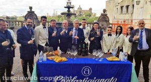 Viterbo - L'inaugurazione di Degustando la Pasqua