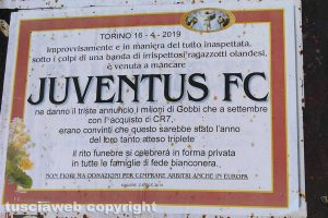 """Gallese - Il """"funerale"""" della Juventus"""
