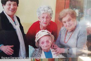 Viterbo - La festa di compleanno di Anna Garulli