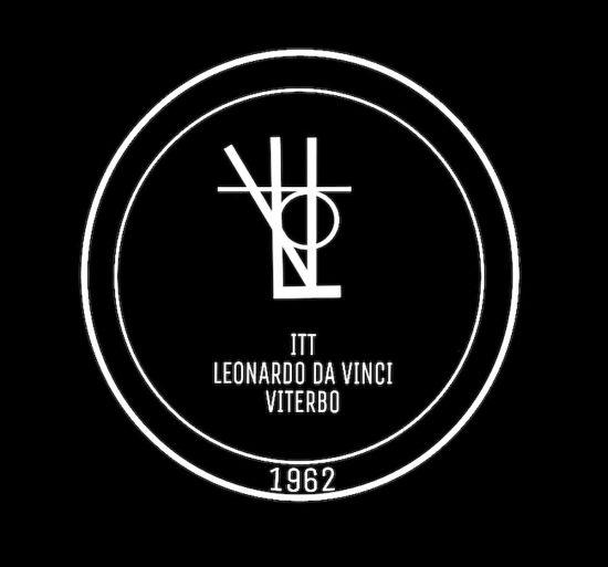Viterbo - Il nuovo logo dell'Itt Leonardo Da Vinci